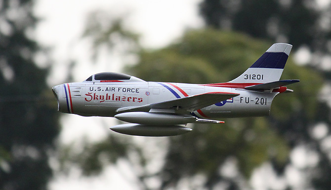 RC Jet Airplane F86 Kit(Hong Kong)