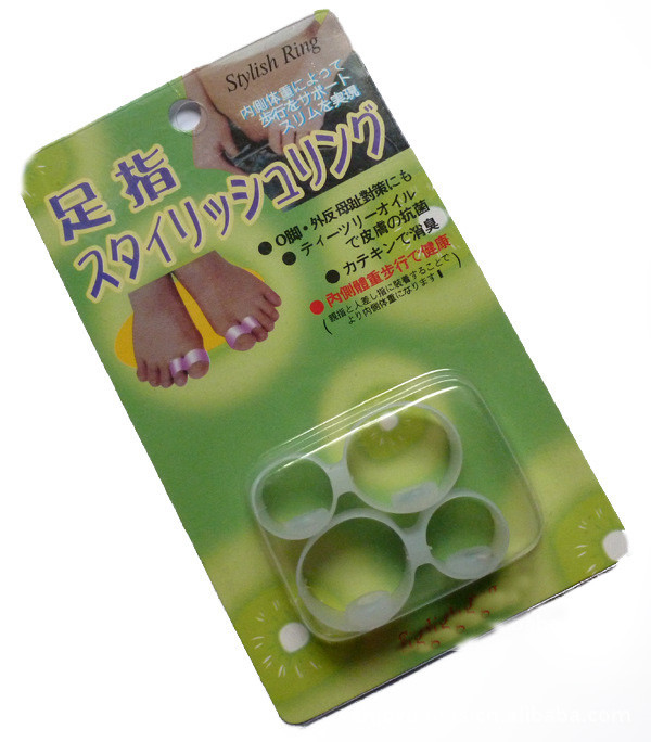 silicone magnetic toe ring instructions