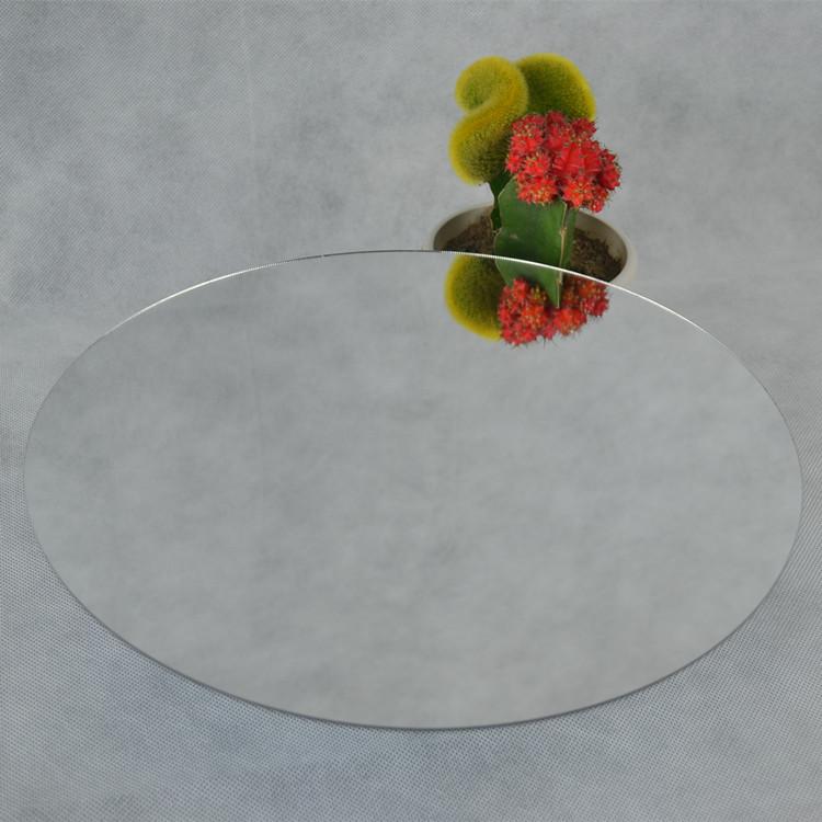 (45pcs/lot) Diameter285x2mm Not Easily Broken / Light Weight Home Decorative Plastic Acrylic Silver Round Mirrors Sheet(China (Mainland))