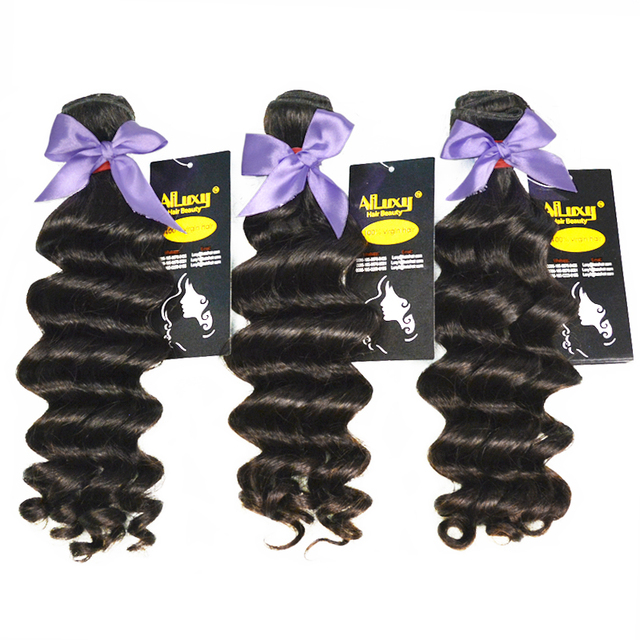 7A Top Grade Eurasian Virgin hair free shipping, loose wave hair extension ,3pics/lpot can be colored , color 1b