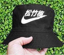 2014 adult unisex summer street fashion new vintage brand letter printed cotton bucket hat hip hop fishing cap bob women men(China (Mainland))