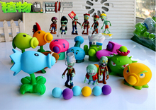 9 Style New Popular Game PVZ Plants vs Zombies Peashooter PVC Action Figure Model Toys 10CM Plants Vs Zombies Toys