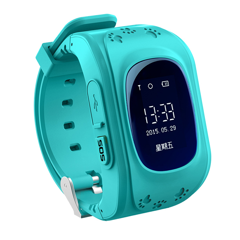 2016 Smart Kid Safe GPS Watch Wristwatch SOS Call Location Finder Locator font b Tracker b