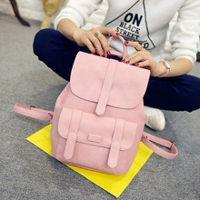 Toposhine Famous Brand Backpack Women Backpacks Solid Vintage Girls School Bags for Girls Black Leather Women Backpack 1523(China (Mainland))