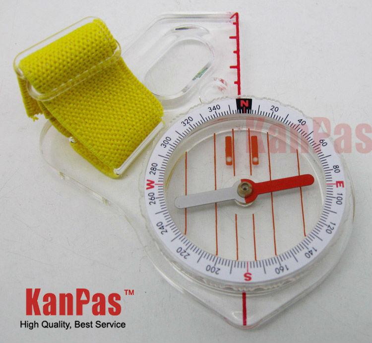 free shipping / basic orienteering thumb compass