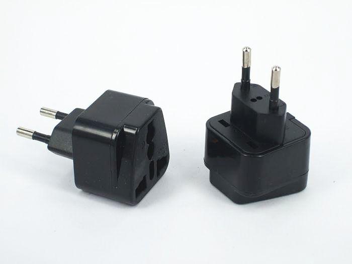 10pcs/lot UK to EU AC Power Plug Brazil AC Power Plug High Quality Adapter Travel Converter Plug(China (Mainland))