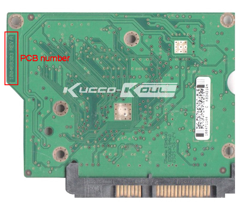 hard drive parts PCB logic board printed circuit board 100468303 for Seagate 3.5 SATA 250GB hard drive repair data recovery(China (Mainland))