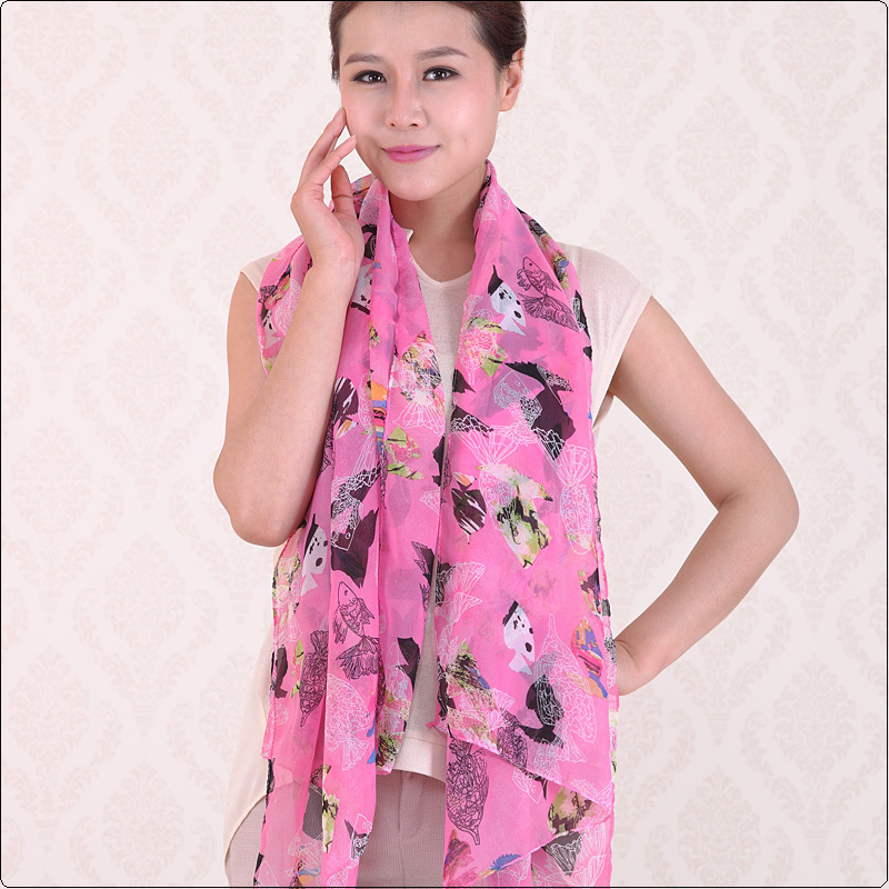 Buy 3 get 1 for free! 2015 new style scarf thin silk chiffon scarf spring and autumn silk women summer emulation silk patterns(China (Mainland))