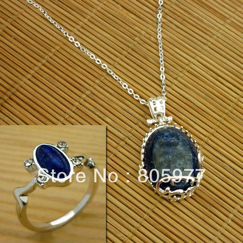 Здесь продается  NEW THE VAMPIRE DIARIES KATHERINE DAYLIGHT LAPIS NECKLACE/BRACELET + ELENA RING  Ювелирные изделия и часы