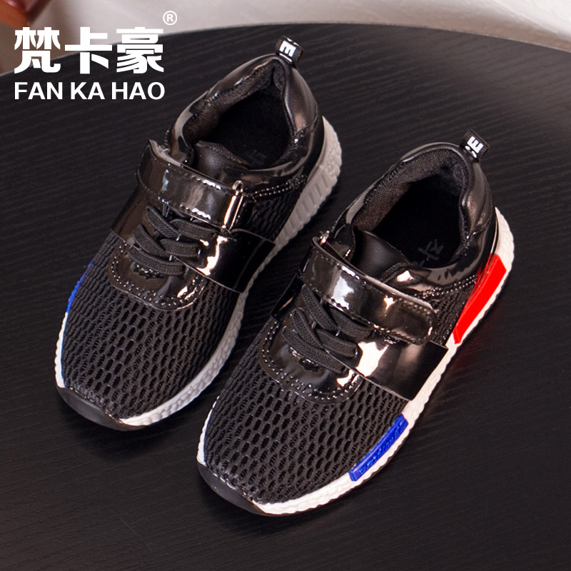 2016 spring summer children's sports shoes boys girls running shoes kid's hollow casual mesh sneaker shoes 26-30.31-35(China (Mainland))