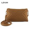 LIXUN Ladies Casual Hollow Out Messenger Crossbody Shoulder Bags Luxury Handbags Women Bags Designer Brand Feminina