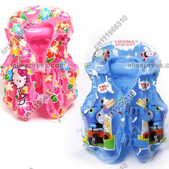 Baby Kid Toddler Child Infant Boy Girl Inflatable Float Pool Beach Life Jacket Swim Wear