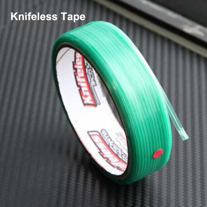 2015 New product Knifeless Tape Auto Car Sticker Vinyl Film Cutting Tools Finish Line Tapes Cut Knife Size 0.35cmx5000cm(China (Mainland))