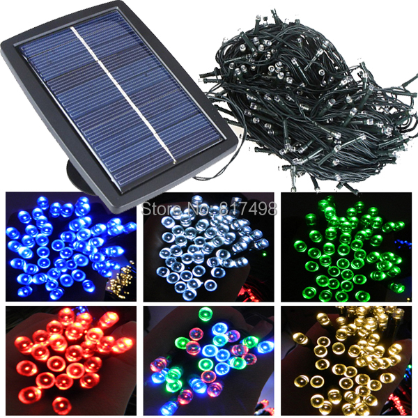 Solar Mini Lights On String : 300LEDs Christmas Mini Modern Pendant Garland Lighting Lamp Powered Led Solar Garden String ...