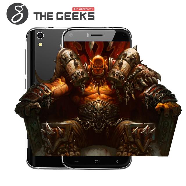 Оригинал Umi Лондон Сотовый Телефон MTK6580 1.3 ГГц Quad Core 5.0 Дюймов HD Экран 1 Г RAM 8 Г ROM Мобильный Телефон Android 6.0 3 Г смартфон