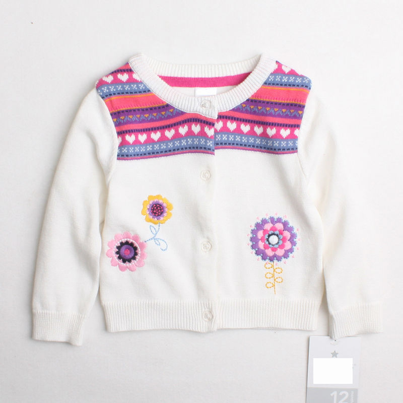 2016 High quality children's clothing baby girls coat cotton jackets fashion Long Sleeve spring cardigan class girls clothes(China (Mainland))