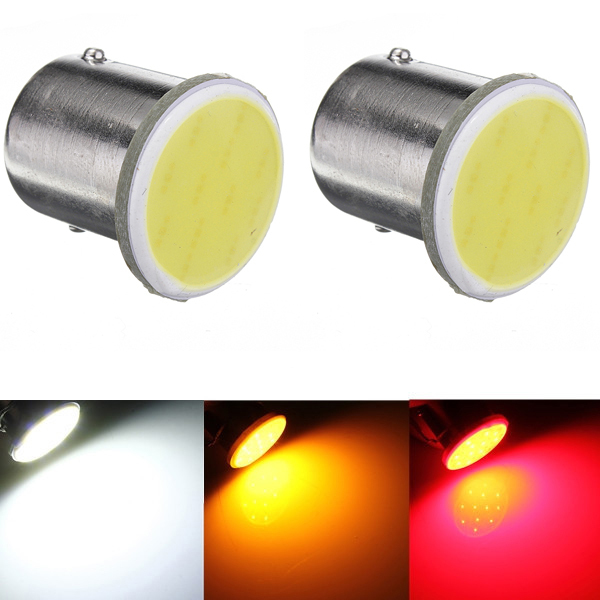 Super White cob p21w led 12SMD 1156 ba15s 12v bulbs RV Trailer Truck Interior Light 1073