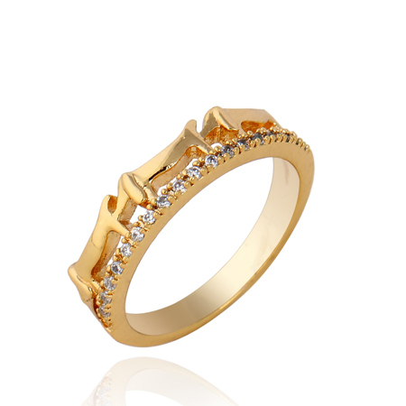 Unique creative new Men and women set auger pinky rings tail rings female design model KUNIU WJ0019(China (Mainland))