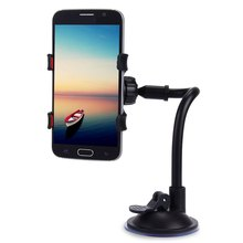 Mobile Phone Car Mount Bracket Holder Stand 360 Degrees Rotation Universal Cars Windshield Long Arm Smartphone Cars Holder(China (Mainland))