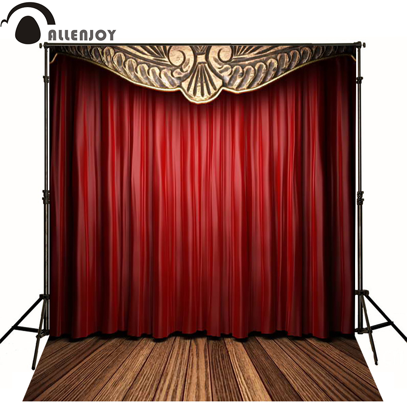 Popular red curtain background buy cheap red curtain - Cortinas para escenarios ...