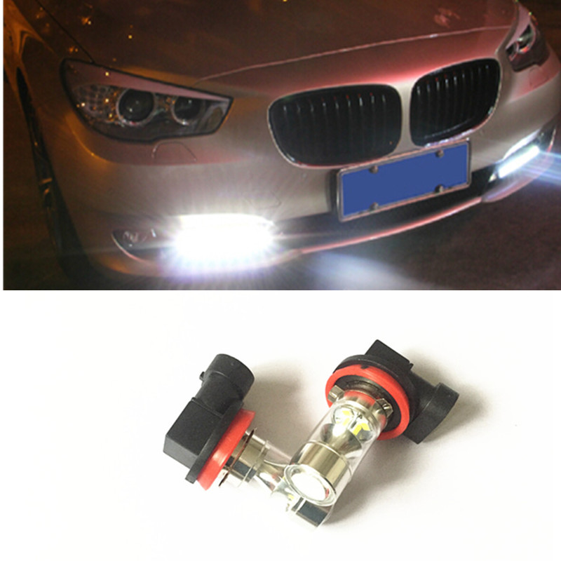 \AMBER CANBUS ERROR FREE CREE h11 h8 LED CAR TURN SIGNAL STOP LIGHT BULB for bmw audi vw(China (Mainland))