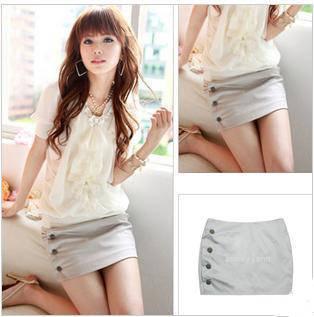 Summer ol slim hip short skirt a-line skirt bust skirt step skirt career dress elegant