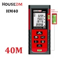 HOUSEDM 40M laser distance meter tape measure Build tools rangefinder trena laser range finder Distance Area