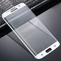 3D Full Cover Tempered Glass Screen Protector For Samsung Galaxy S7 Edge Safety Protective Film Retail