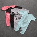 Summer fashion infant baby rompers newborn baby girl clothes cotton baby boys romper cute jumpsuit kids