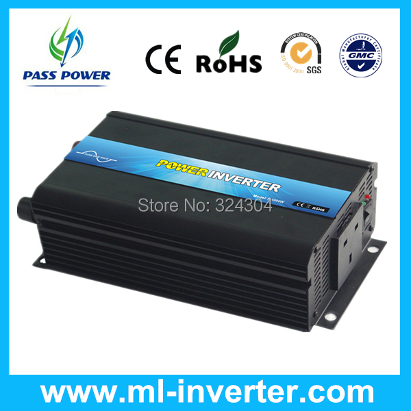 Factory Sell 1000w/1kw Inverter Power, Inverter Solar DC48v-AC100v/110v/120v One Year Warranty CE&ROHS&SGS&IP30(China (Mainland))