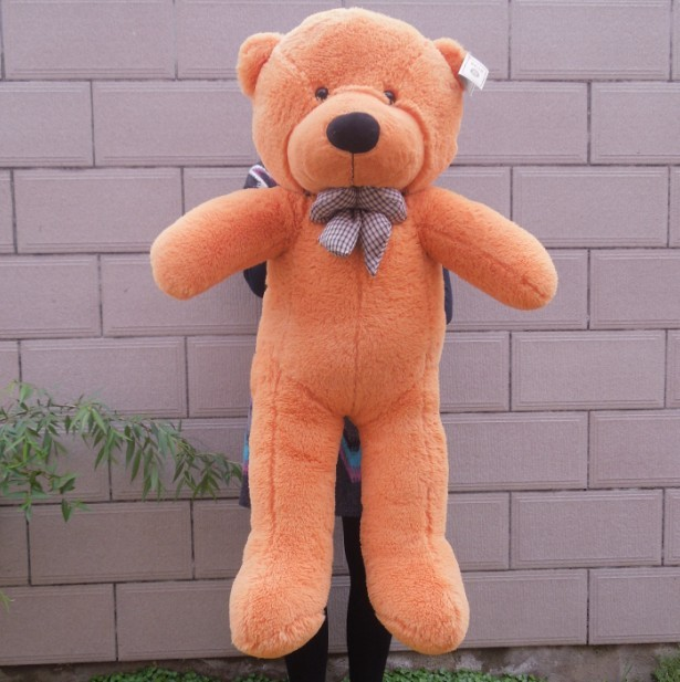 """47"""" White/Light Brown/Dark brown/Pink Color 1.2M Giant Size Plush Teddy Bear Plush Toy Doll Bear Gift(China (Mainland))"""