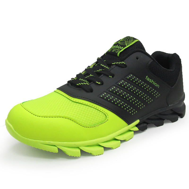 NEW Top Quality Sneakers 2016 Brand Running Shoes Men Breathable Air Mesh Damping Sport Shoe Comfortable Outdoor Zapatos Hombre(China (Mainland))