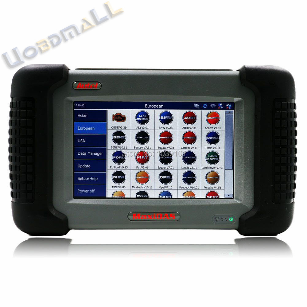 [Autel Distributor] Top Original Autel MaxiDAS DS708 Scanner Update Online Autel DS708 ECU Diagnostic Tool Multi-Language(China (Mainland))
