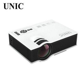 Original UNIC UC40 Home Cinema HDMI USB LCD HD LED Mini Projector,800X480Pixels,Perfect Video Game Movie Proyector Beamer