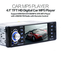4 1 TFT HD Digital Stereo FM Radios MP3 MP4 Audio Video USB Wheel Control FM