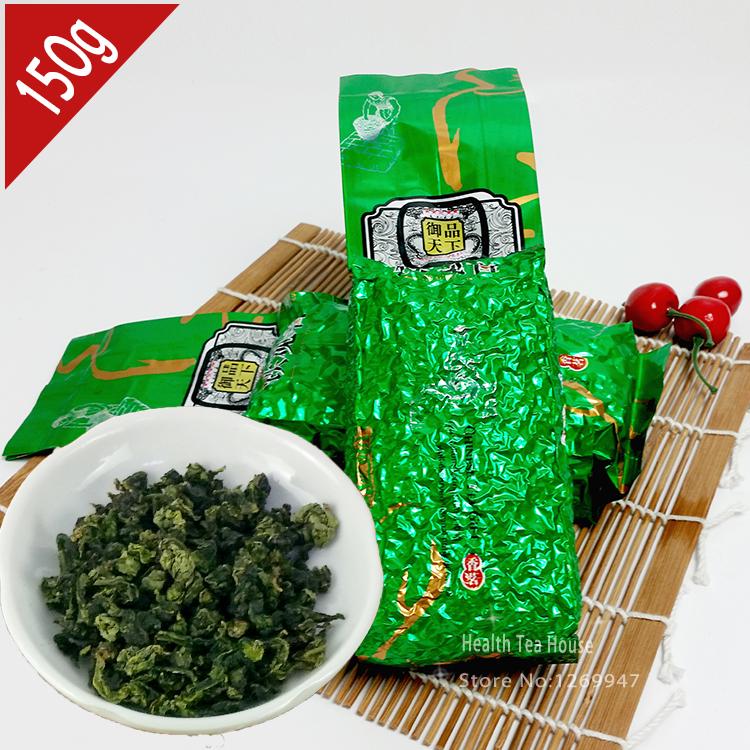 6A Chinese Tea 2015 Anxi TieGuanYin Premium Quality Spring Oolong Tie Guan Yin Green Tea Vacuum Packing 150g(China (Mainland))