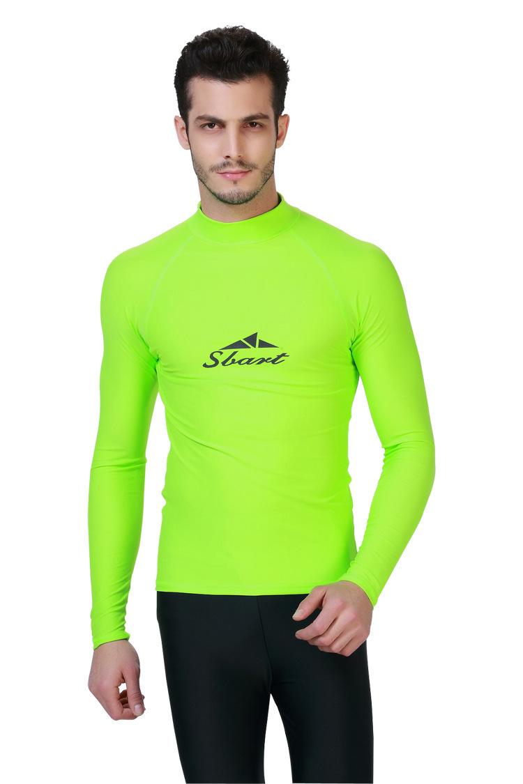 Men Rashguard Spandex Lycra Suff Wet Suit Long Sleeve