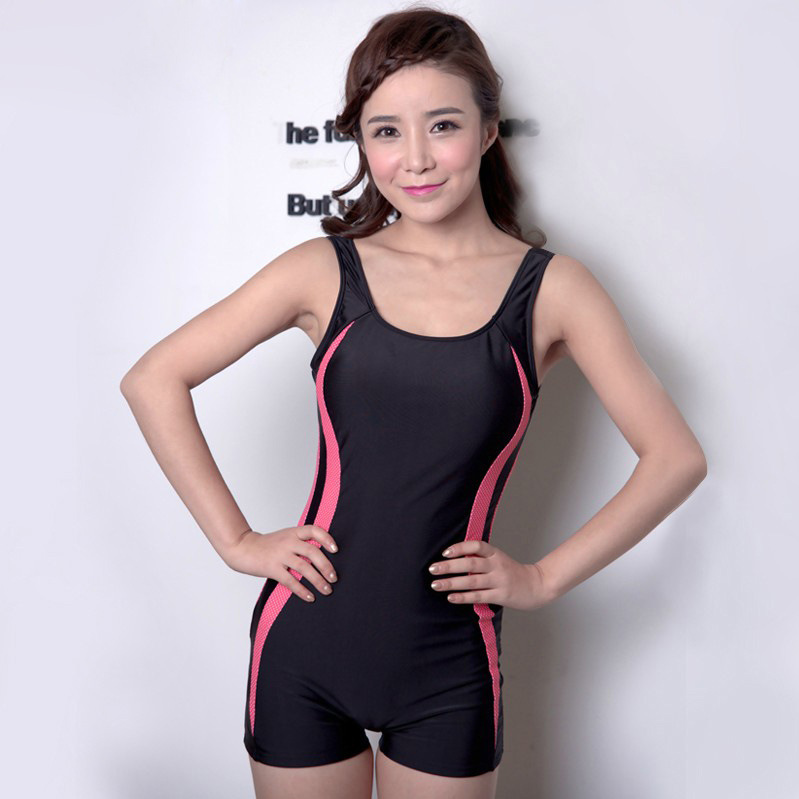woman girl professional one piece swimsuit plus size L XL ...