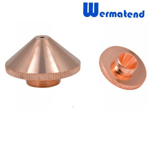 10pcs/lot Free shipping high quality Laser cutting nozzle for TRUMPF or HANS we can design according to your sample