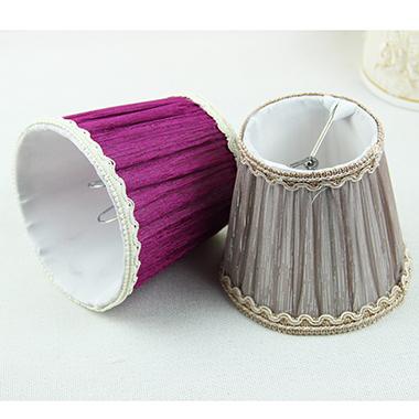 kant lampenkappen, Zijde elegante lampenkappen, Romantische paars ...
