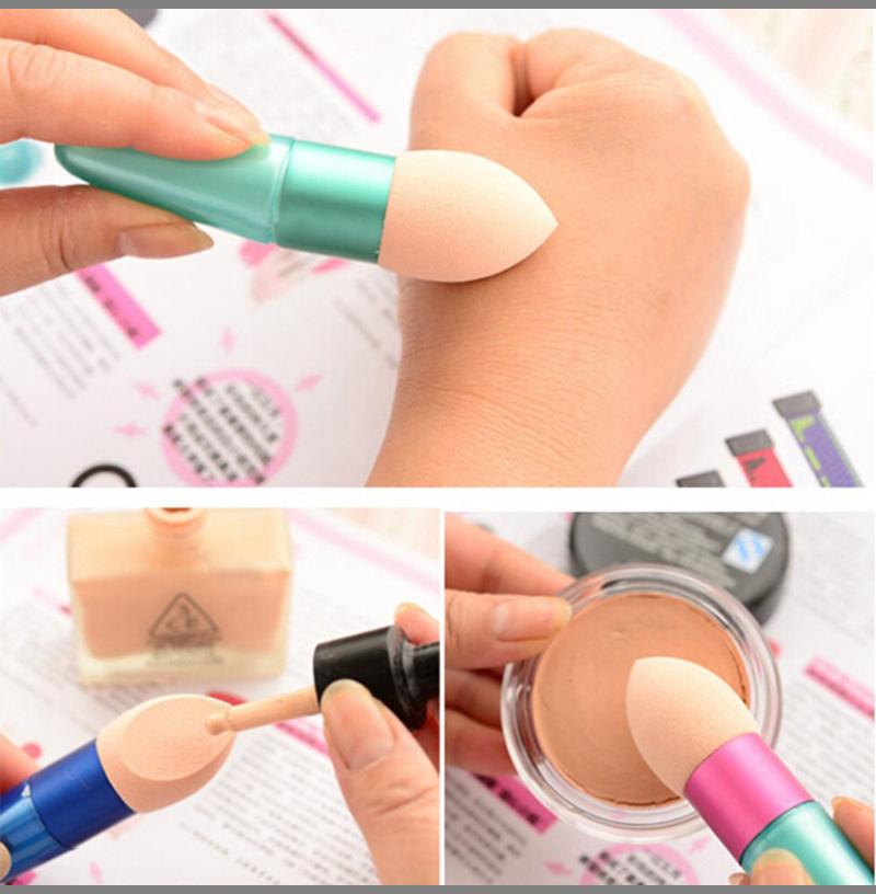 Makeup Foundation Sponge Puff Flawless Powder Smooth bullet Puff Beauty Makeup Tool(China (Mainland))