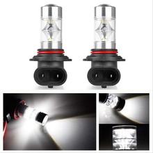 Buy 2pcs Super Bright 6000K Xenon White XB-D 9005 HB3 LED Bulbs Car High Beam Daytime Running Lights Fog Lamps for $9.94 in AliExpress store