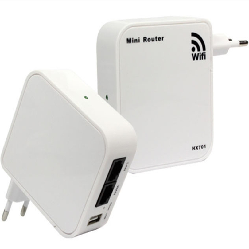 Hot-sale High Quality New Mini Portable 150Mbps Wireless-N WiFi Router Wlan Wall EU Plug USB Charging For iPhone For iPad 1 PC(China (Mainland))