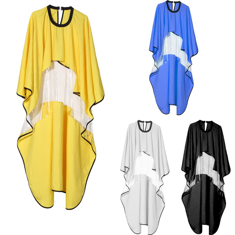 Free Shipping Pro Salon Barber Hairdressing Hairdresser Hair Cutting Gown Cloth Cape GUB#
