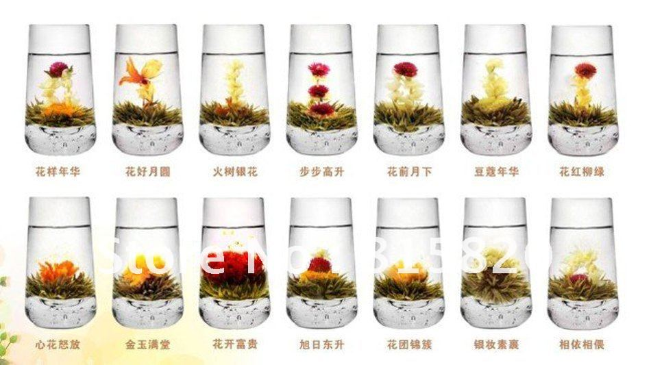 20 kinds Blooming tea, Artistic Blossom Flower Tea,,Free Shipping Free Gift<br><br>Aliexpress