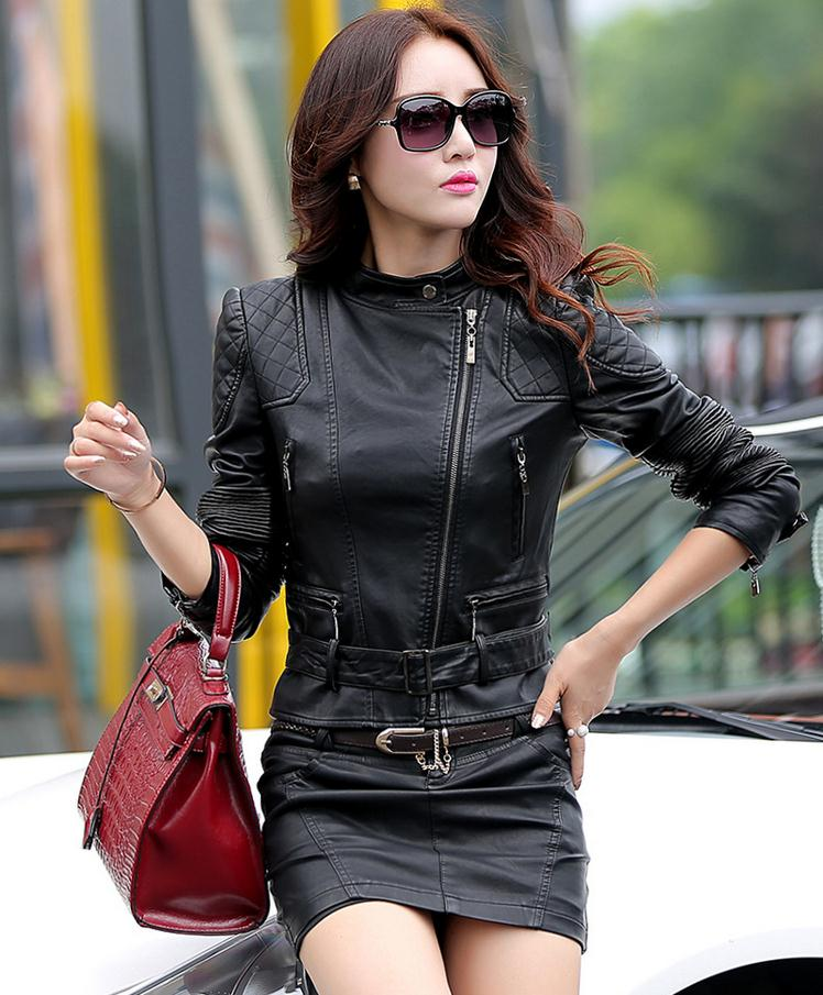 Best female leather jackets – Modern fashion jacket photo blog
