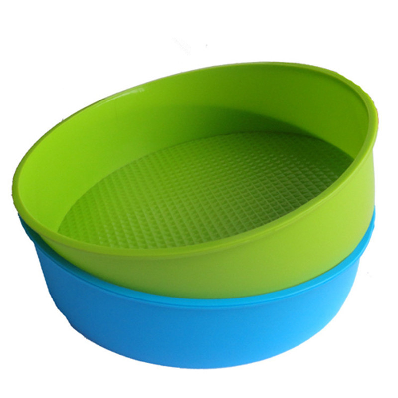 DIY Silicone Cake Mold Silicon Bakeware Big Round Cake Molds Bread Mould Kitchen Accessories Cake Tools(China (Mainland))