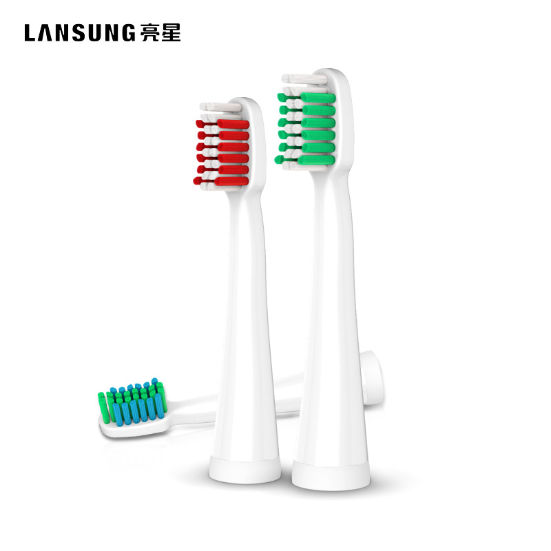 LANSUNG 4Pcs Toothbrush Head Electric Toothbrush Replacement Head Fit for U1 A39 A39PLUS A1 SN901 SN902 Tooth Brush Oral Hygiene