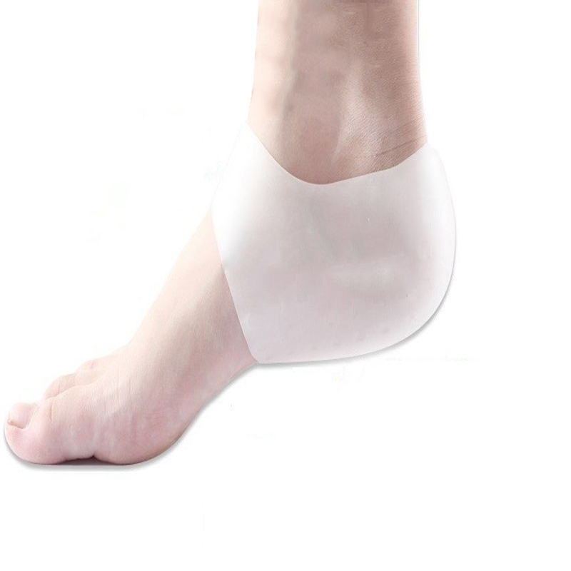 Silicone SPA socks for Pedicure moisturizing Insoles heel mask pedicure socks pro pain relieve pillow for peeling feet care(China (Mainland))