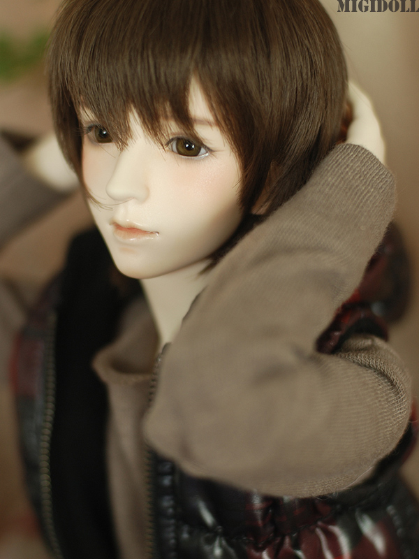 FREE SHIPPING ! FREE makeup&eyes included!top quality Migidoll Ryu 1/3 boy male Bjd doll sd doll doll manikin(China (Mainland))